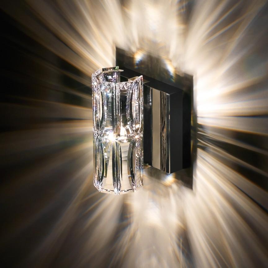 Aplica design LUX cristal Swarovski Verve SVR605, 13cm, Aplice Cristal Swarovski, Corpuri de iluminat, lustre, aplice, veioze, lampadare, plafoniere. Mobilier si decoratiuni, oglinzi, scaune, fotolii. Oferte speciale iluminat interior si exterior. Livram in toata tara.  a