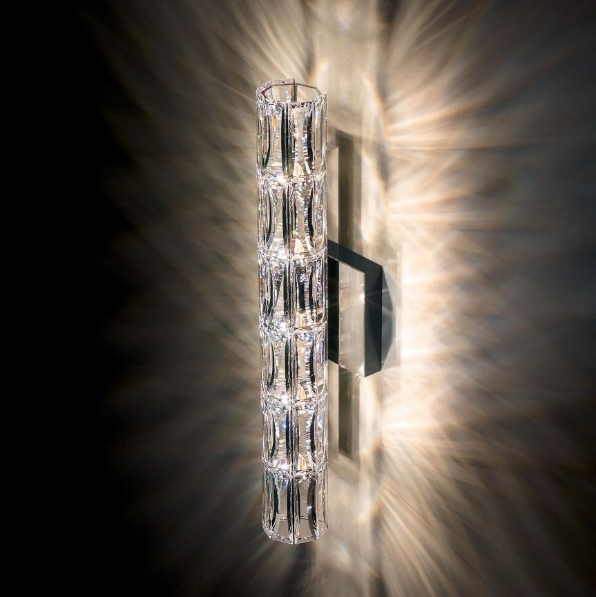 Aplica design LUX cristal Swarovski Verve SVR615, 46cm, Aplice Cristal Swarovski, Corpuri de iluminat, lustre, aplice, veioze, lampadare, plafoniere. Mobilier si decoratiuni, oglinzi, scaune, fotolii. Oferte speciale iluminat interior si exterior. Livram in toata tara.  a