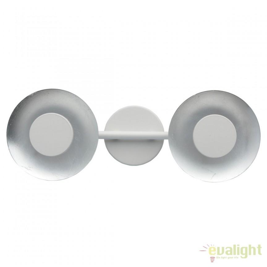 Aplica LED moderna cu lumina ambientala Andris 2 452024502 MW, Aplice de perete LED, Corpuri de iluminat, lustre, aplice, veioze, lampadare, plafoniere. Mobilier si decoratiuni, oglinzi, scaune, fotolii. Oferte speciale iluminat interior si exterior. Livram in toata tara.  a