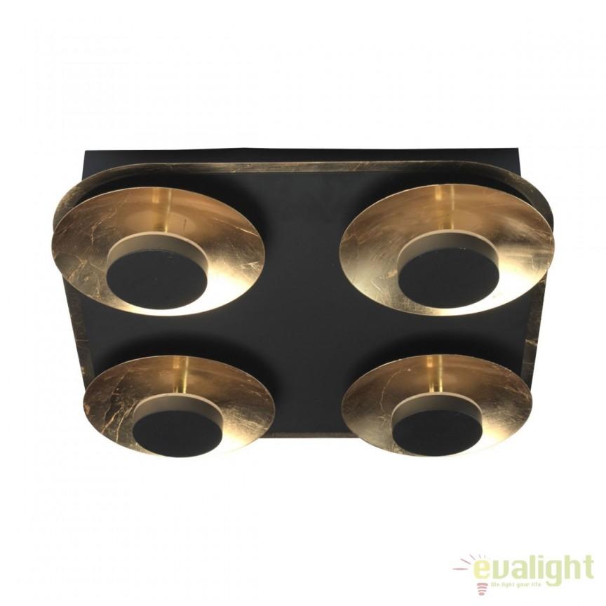 Plafoniera LED stil modern Artemiy 4 452015004 MW, Plafoniere LED, Spoturi LED, Corpuri de iluminat, lustre, aplice, veioze, lampadare, plafoniere. Mobilier si decoratiuni, oglinzi, scaune, fotolii. Oferte speciale iluminat interior si exterior. Livram in toata tara.  a
