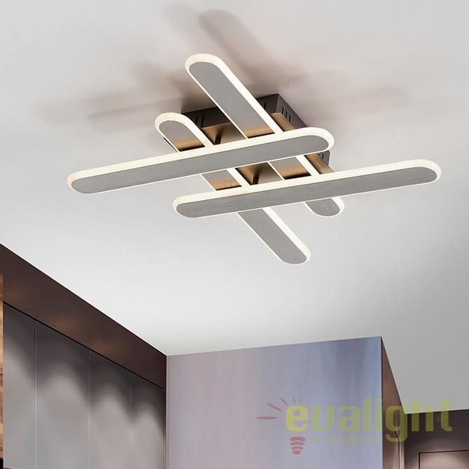 Lustra / Plafoniera LED design ultra-modern Yoga II SV-371235, Plafoniere LED, Spoturi LED, Corpuri de iluminat, lustre, aplice, veioze, lampadare, plafoniere. Mobilier si decoratiuni, oglinzi, scaune, fotolii. Oferte speciale iluminat interior si exterior. Livram in toata tara.  a