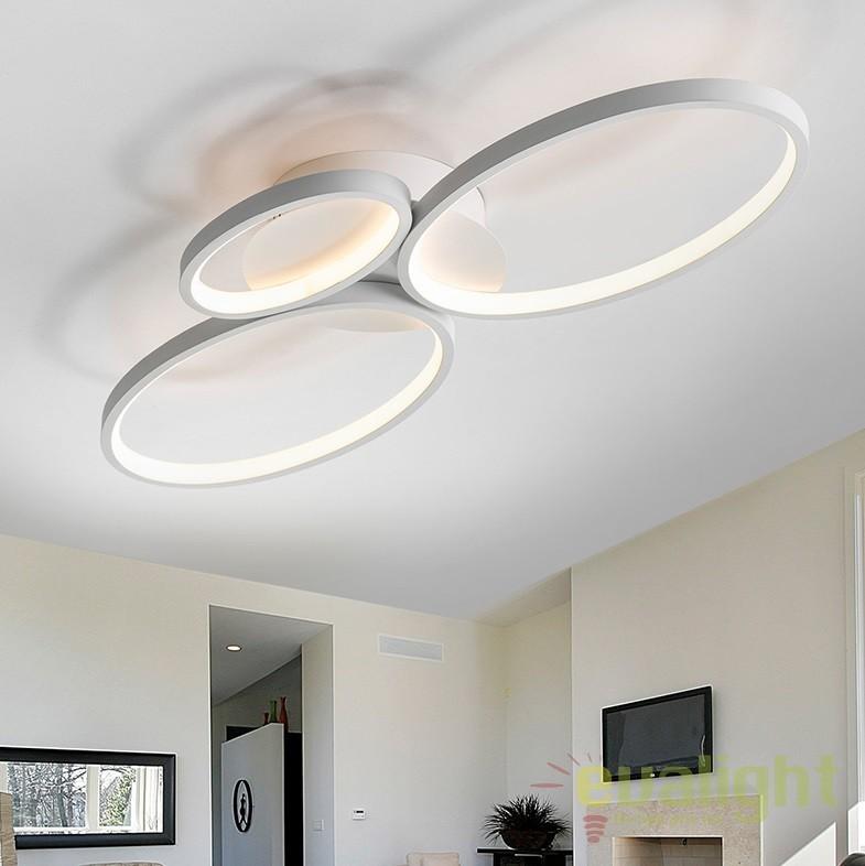 Lustra / Plafoniera LED stil modern Sios SV-518394, Plafoniere LED, Spoturi LED, Corpuri de iluminat, lustre, aplice, veioze, lampadare, plafoniere. Mobilier si decoratiuni, oglinzi, scaune, fotolii. Oferte speciale iluminat interior si exterior. Livram in toata tara.  a
