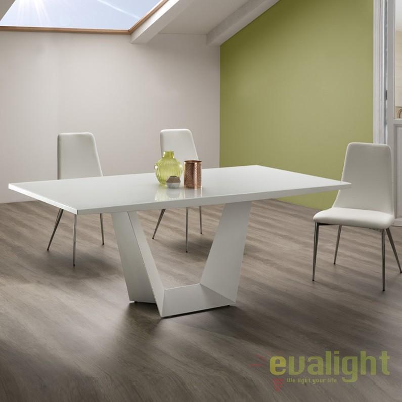 Masa dining design ultra-modern Yuma SV-771256, Mese dining, Corpuri de iluminat, lustre, aplice, veioze, lampadare, plafoniere. Mobilier si decoratiuni, oglinzi, scaune, fotolii. Oferte speciale iluminat interior si exterior. Livram in toata tara.  a
