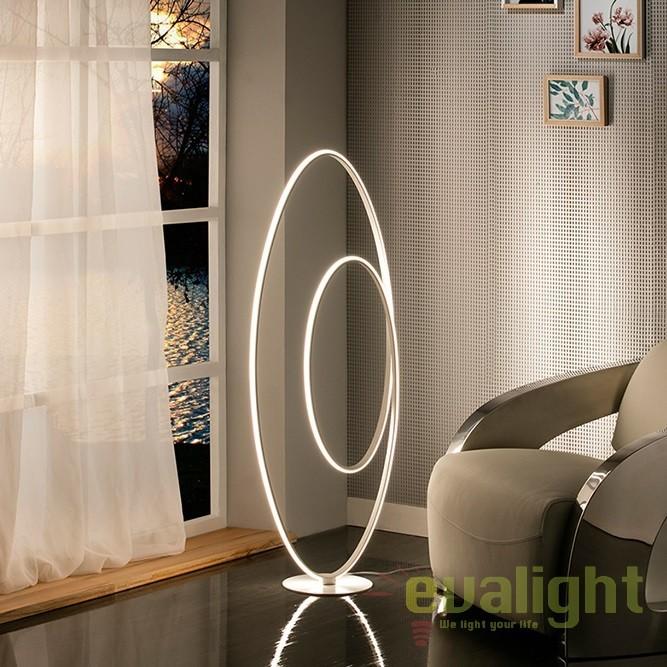Lampadar LED / Lampa de podea ultra-moderna Loop SV-614157, Veioze LED, Lampadare LED, Corpuri de iluminat, lustre, aplice, veioze, lampadare, plafoniere. Mobilier si decoratiuni, oglinzi, scaune, fotolii. Oferte speciale iluminat interior si exterior. Livram in toata tara.  a