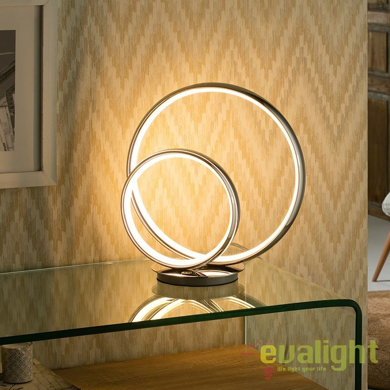 Veioza LED / Lampa de masa ultra-moderna Omega SV-614082, Veioze LED, Lampadare LED, Corpuri de iluminat, lustre, aplice, veioze, lampadare, plafoniere. Mobilier si decoratiuni, oglinzi, scaune, fotolii. Oferte speciale iluminat interior si exterior. Livram in toata tara.  a
