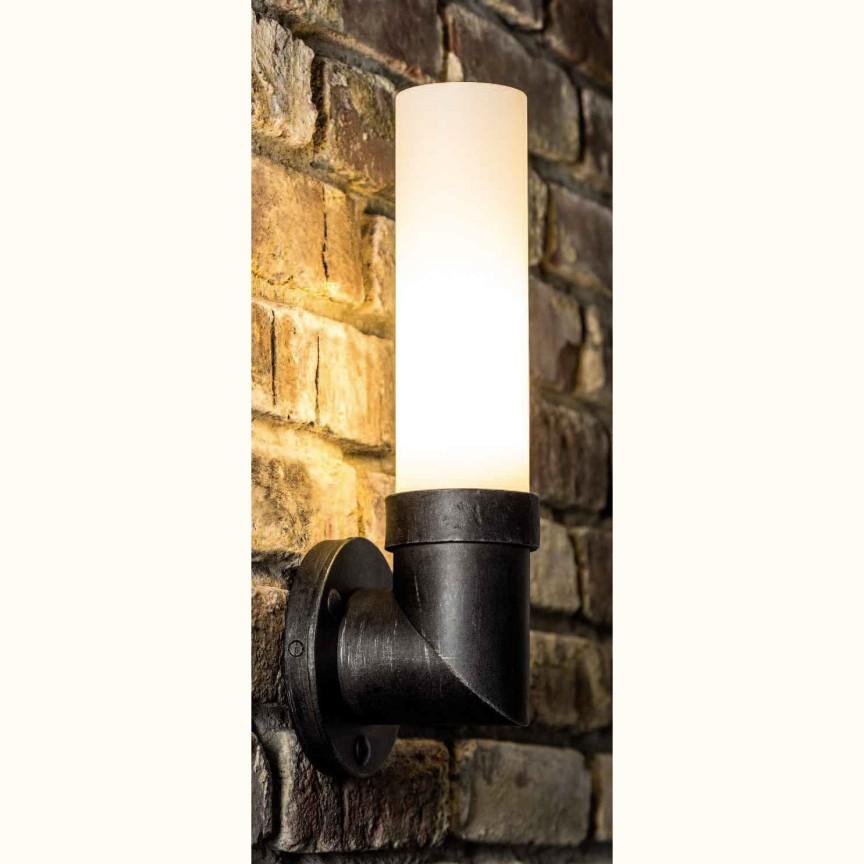 Aplica design industrial din fier forjat WL 3616, ILUMINAT FIER FORJAT DE LUX , Corpuri de iluminat, lustre, aplice, veioze, lampadare, plafoniere. Mobilier si decoratiuni, oglinzi, scaune, fotolii. Oferte speciale iluminat interior si exterior. Livram in toata tara.  a