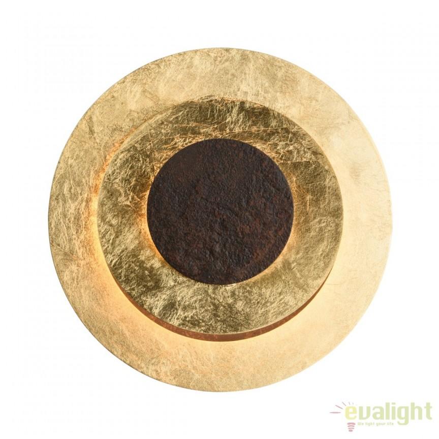 Aplica LED design decorativ Galactica I, auriu 452023601 MW, PROMOTII, Corpuri de iluminat, lustre, aplice, veioze, lampadare, plafoniere. Mobilier si decoratiuni, oglinzi, scaune, fotolii. Oferte speciale iluminat interior si exterior. Livram in toata tara.  a