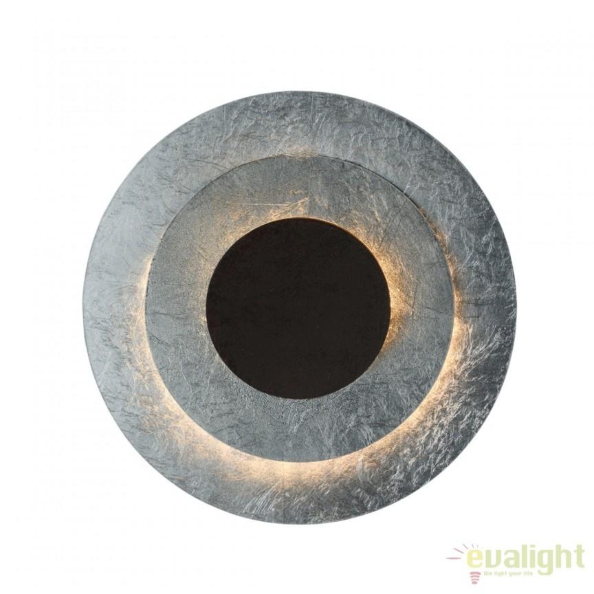 Aplica LED design decorativ Galactica I, argintiu 452023701 MW, Aplice de perete LED, Corpuri de iluminat, lustre, aplice, veioze, lampadare, plafoniere. Mobilier si decoratiuni, oglinzi, scaune, fotolii. Oferte speciale iluminat interior si exterior. Livram in toata tara.  a