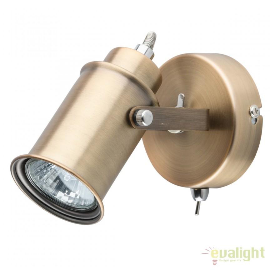 Aplica directionabila stil industrial Walter I 551020201 MW, Spoturi - iluminat - cu 1 spot, Corpuri de iluminat, lustre, aplice, veioze, lampadare, plafoniere. Mobilier si decoratiuni, oglinzi, scaune, fotolii. Oferte speciale iluminat interior si exterior. Livram in toata tara.  a