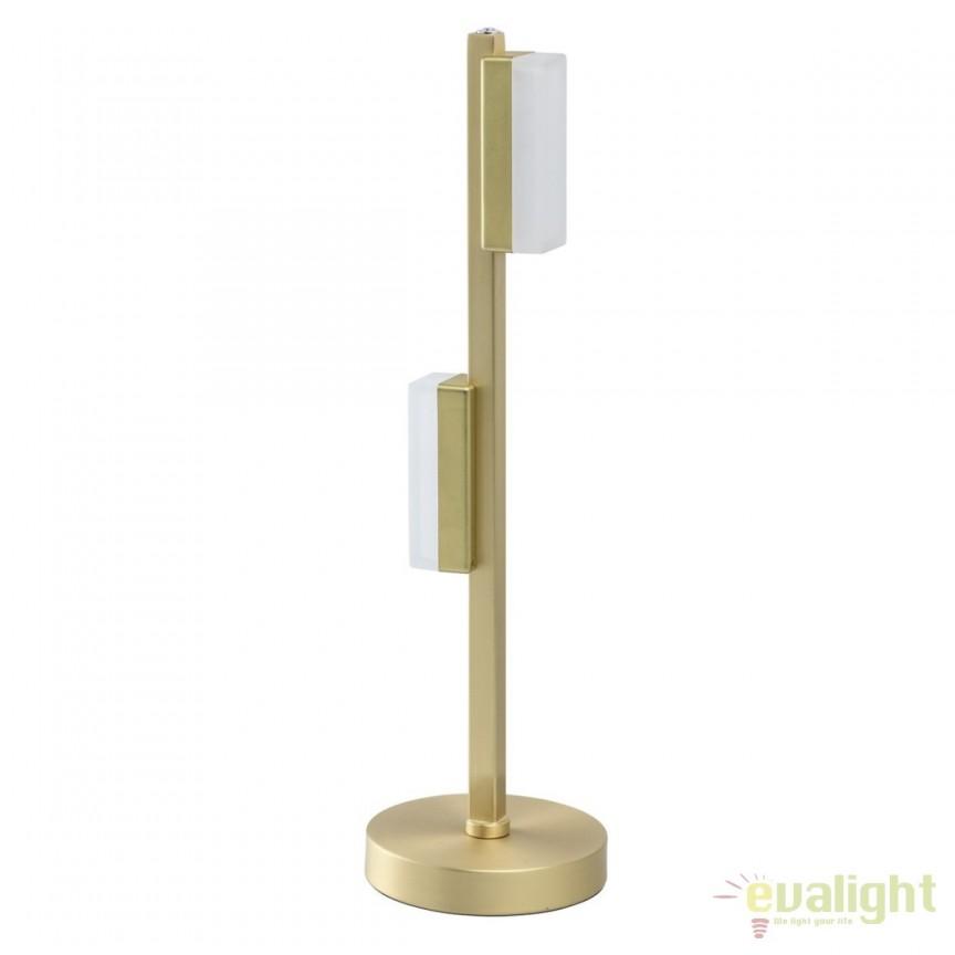 Veioza LED / Lampa de masa moderna Callisto 704035602 MW, Veioze LED, Lampadare LED, Corpuri de iluminat, lustre, aplice, veioze, lampadare, plafoniere. Mobilier si decoratiuni, oglinzi, scaune, fotolii. Oferte speciale iluminat interior si exterior. Livram in toata tara.  a