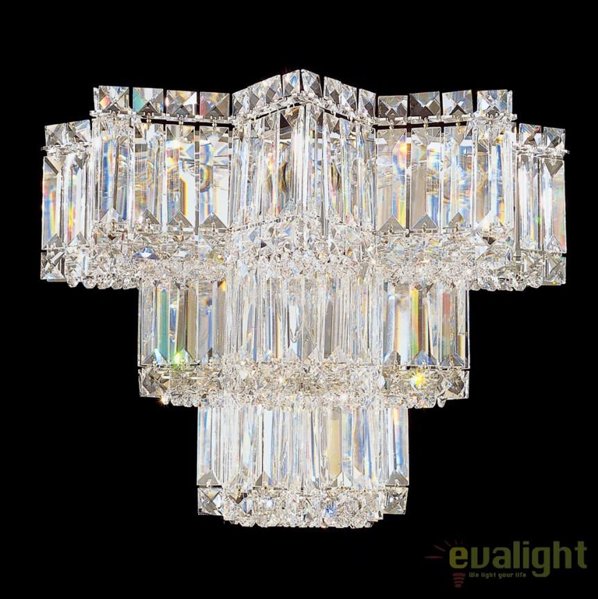 Aplica eleganta design LUX Crystal Gemcut, Equinoxe 2703, LUSTRE CRISTAL, Corpuri de iluminat, lustre, aplice, veioze, lampadare, plafoniere. Mobilier si decoratiuni, oglinzi, scaune, fotolii. Oferte speciale iluminat interior si exterior. Livram in toata tara.  a