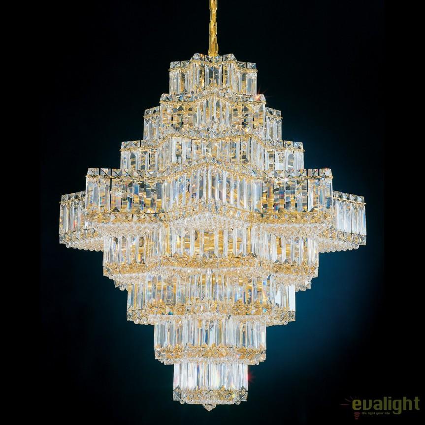 Lustra design LUX Crystal Gemcut, Equinoxe 2726, Lustre Cristal Schonbek , Corpuri de iluminat, lustre, aplice, veioze, lampadare, plafoniere. Mobilier si decoratiuni, oglinzi, scaune, fotolii. Oferte speciale iluminat interior si exterior. Livram in toata tara.  a