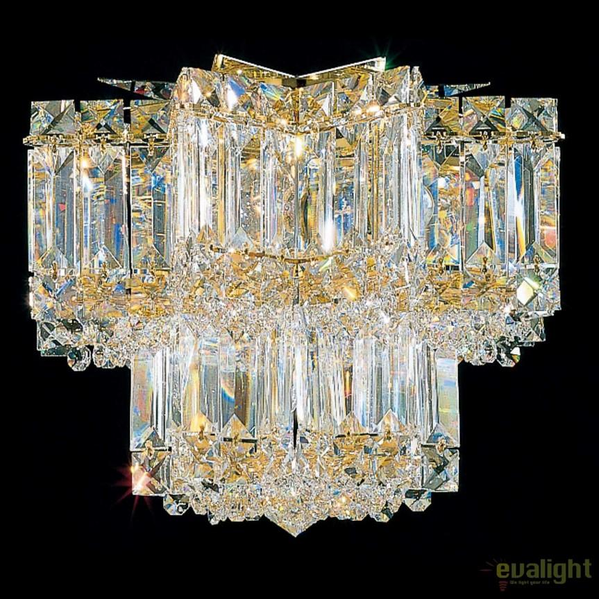 Plafoniera design LUX Crystal Gemcut, Equinoxe 2731, LUSTRE CRISTAL, Corpuri de iluminat, lustre, aplice, veioze, lampadare, plafoniere. Mobilier si decoratiuni, oglinzi, scaune, fotolii. Oferte speciale iluminat interior si exterior. Livram in toata tara.  a