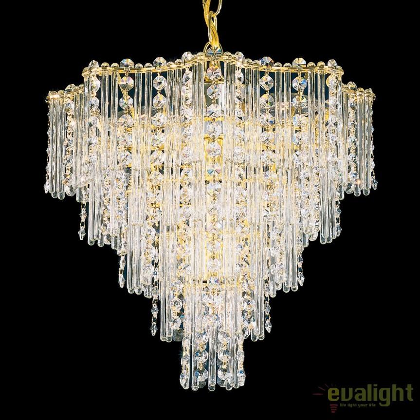 Lustra design LUX Crystal Gemcut, Jubilee 2648, LUSTRE CRISTAL, Corpuri de iluminat, lustre, aplice, veioze, lampadare, plafoniere. Mobilier si decoratiuni, oglinzi, scaune, fotolii. Oferte speciale iluminat interior si exterior. Livram in toata tara.  a
