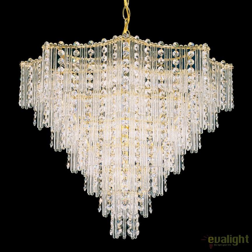 Lustra design LUX Crystal Gemcut, Jubilee 2652, LUSTRE CRISTAL, Corpuri de iluminat, lustre, aplice, veioze, lampadare, plafoniere. Mobilier si decoratiuni, oglinzi, scaune, fotolii. Oferte speciale iluminat interior si exterior. Livram in toata tara.  a