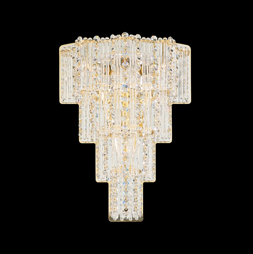 Aplica design LUX Crystal Gemcut, Jubilee 2673, LUSTRE CRISTAL, Corpuri de iluminat, lustre, aplice, veioze, lampadare, plafoniere. Mobilier si decoratiuni, oglinzi, scaune, fotolii. Oferte speciale iluminat interior si exterior. Livram in toata tara.  a