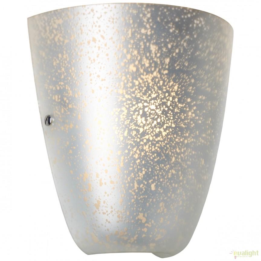 Aplica perete dimabila design modern Gleam argintie 73910/58 BL, Cele mai noi produse 2018 a
