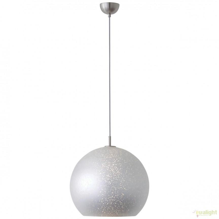 Lustra / Pendul dimabil design modern Gleam argintiu 73970/58 BL, Cele mai noi produse 2018 a