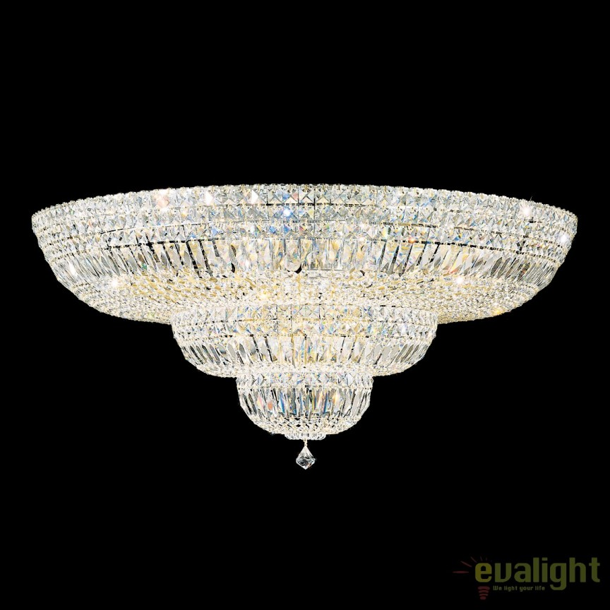Plafoniera LUX cristal Swarovski, Petit Crystal Deluxe 5896, 91cm, Plafoniere Cristal Schonbek , Corpuri de iluminat, lustre, aplice, veioze, lampadare, plafoniere. Mobilier si decoratiuni, oglinzi, scaune, fotolii. Oferte speciale iluminat interior si exterior. Livram in toata tara.  a