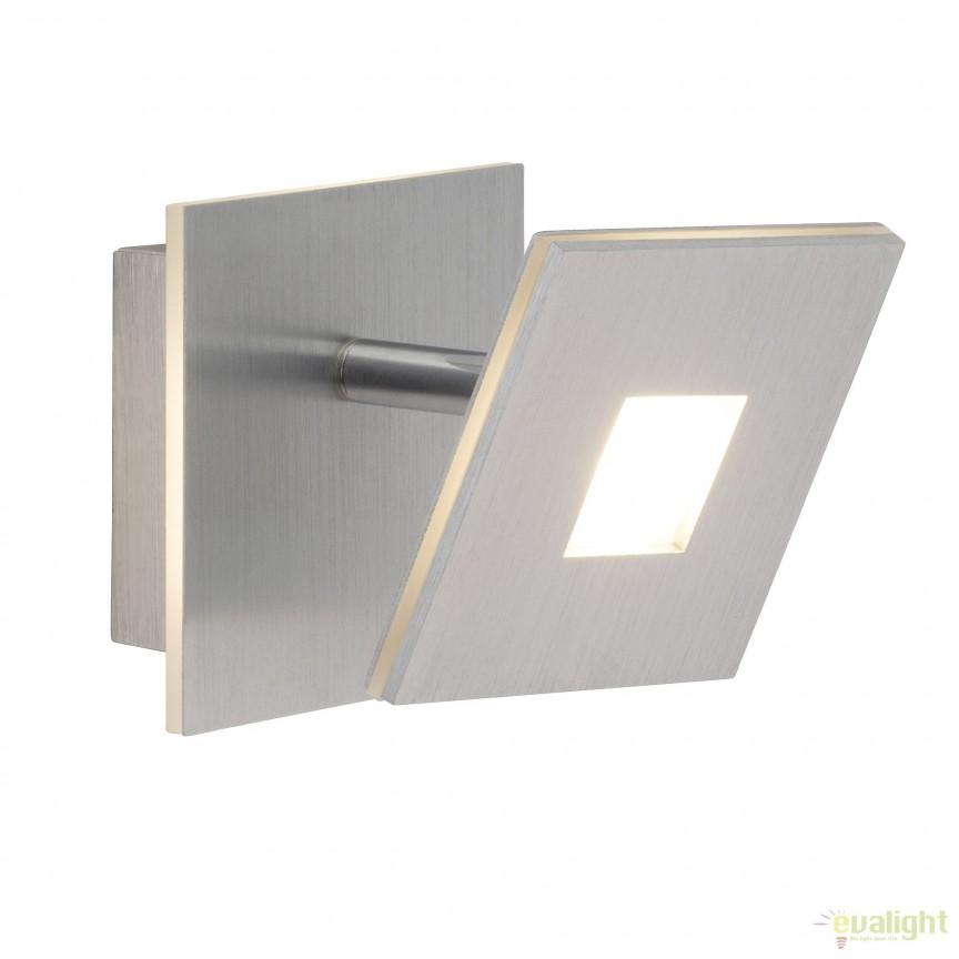 Aplica LED moderna design minimalist EXTRO G61310/21 BL, Spoturi - iluminat - cu 1 spot, Corpuri de iluminat, lustre, aplice, veioze, lampadare, plafoniere. Mobilier si decoratiuni, oglinzi, scaune, fotolii. Oferte speciale iluminat interior si exterior. Livram in toata tara.  a