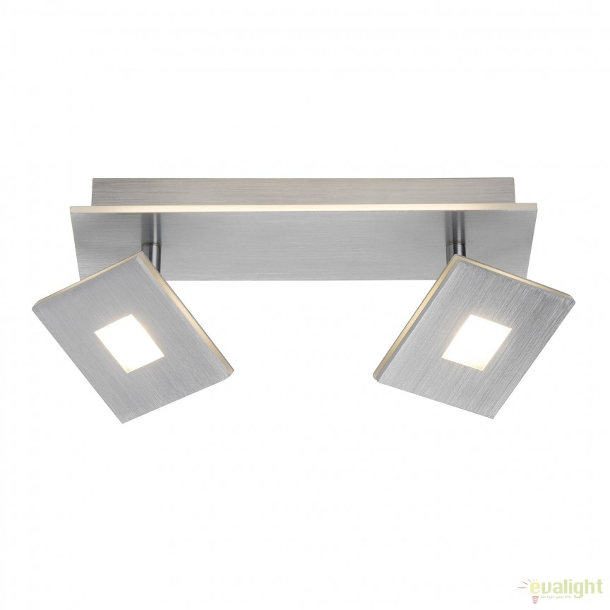 Plafoniera / Aplica LED moderna design minimalist EXTRO 2L G61329/21 BL, Spoturi - iluminat - cu 2 spoturi, Corpuri de iluminat, lustre, aplice, veioze, lampadare, plafoniere. Mobilier si decoratiuni, oglinzi, scaune, fotolii. Oferte speciale iluminat interior si exterior. Livram in toata tara.  a