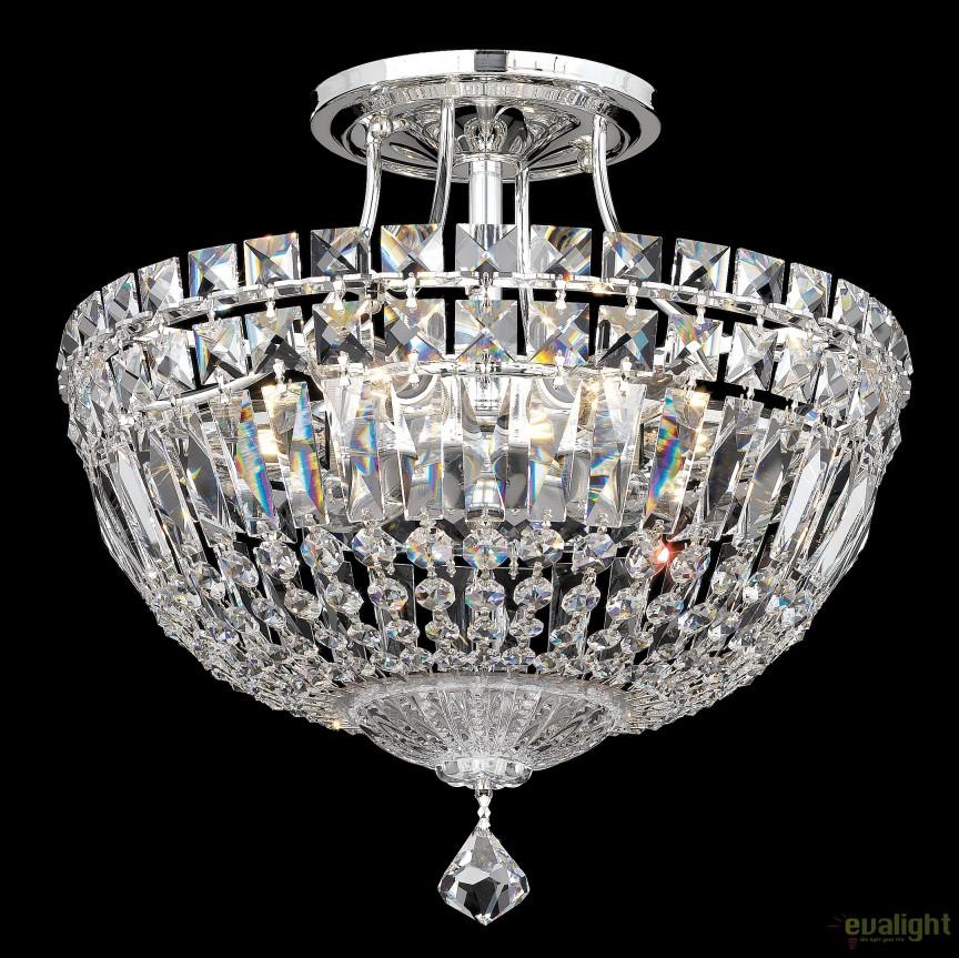 Plafoniera design LUX Crystal Spectra, Petit Crystal Deluxe 5901, 30cm, Plafoniere Cristal Schonbek , Corpuri de iluminat, lustre, aplice, veioze, lampadare, plafoniere. Mobilier si decoratiuni, oglinzi, scaune, fotolii. Oferte speciale iluminat interior si exterior. Livram in toata tara.  a