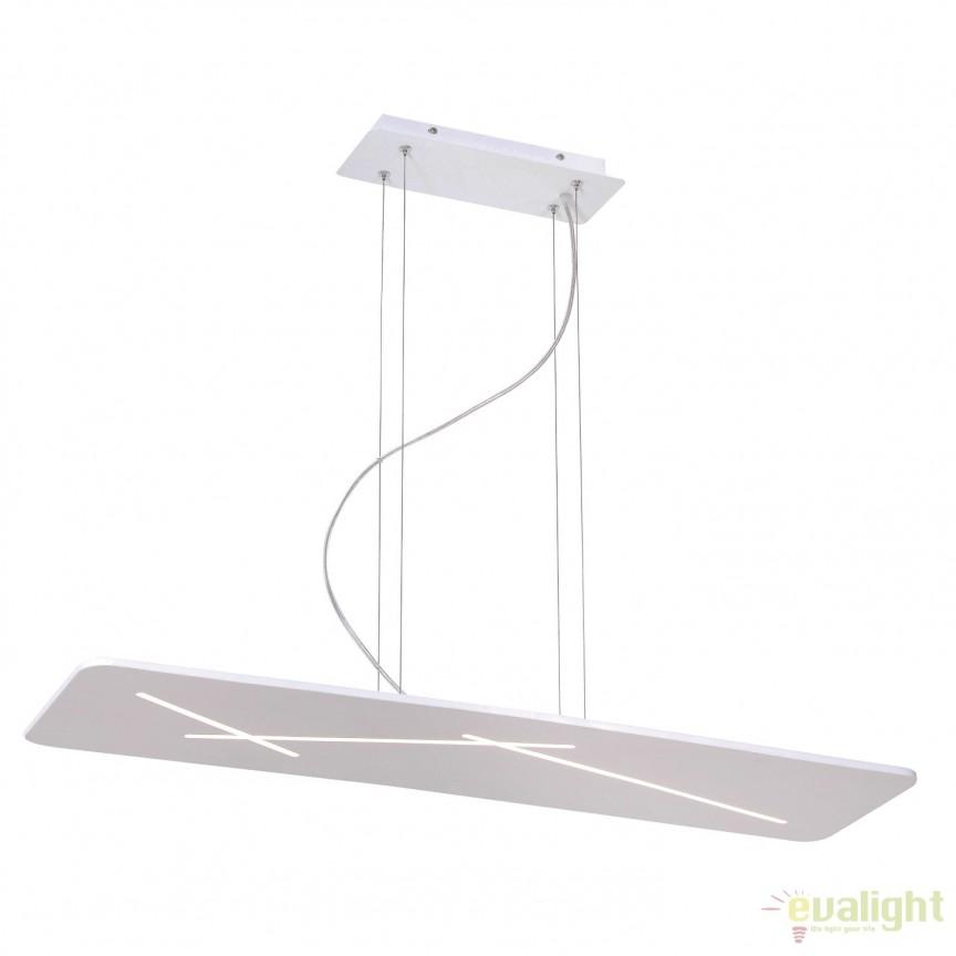 Lustra eleganta design modern LED Slaton LED-M50331, Magazin, Corpuri de iluminat, lustre, aplice, veioze, lampadare, plafoniere. Mobilier si decoratiuni, oglinzi, scaune, fotolii. Oferte speciale iluminat interior si exterior. Livram in toata tara.  a