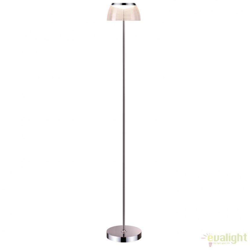 Lampadar elegant design modern, iluminat LED Todd LED-M50335, Magazin, Corpuri de iluminat, lustre, aplice, veioze, lampadare, plafoniere. Mobilier si decoratiuni, oglinzi, scaune, fotolii. Oferte speciale iluminat interior si exterior. Livram in toata tara.  a
