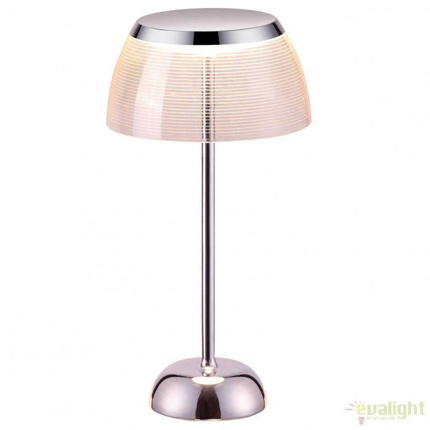Veioza eleganta design modern, iluminat LED Todd LED-M50336, Magazin, Corpuri de iluminat, lustre, aplice, veioze, lampadare, plafoniere. Mobilier si decoratiuni, oglinzi, scaune, fotolii. Oferte speciale iluminat interior si exterior. Livram in toata tara.  a