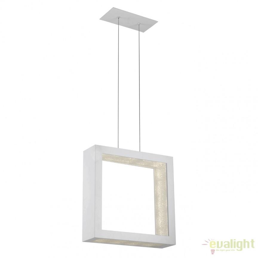 Lustra LED design modern Herlinda LED-M50258, Magazin, Corpuri de iluminat, lustre, aplice, veioze, lampadare, plafoniere. Mobilier si decoratiuni, oglinzi, scaune, fotolii. Oferte speciale iluminat interior si exterior. Livram in toata tara.  a