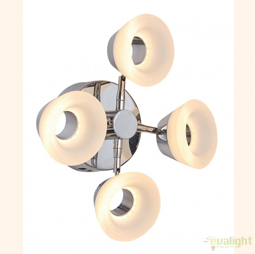 Aplica perete sau tavan design modern, iluminat LED Natisha LED-M50299, Aplice de perete LED, Corpuri de iluminat, lustre, aplice, veioze, lampadare, plafoniere. Mobilier si decoratiuni, oglinzi, scaune, fotolii. Oferte speciale iluminat interior si exterior. Livram in toata tara.  a