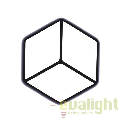 Aplica LED cu efect vizual 3D Kubica LED-M50270, Aplice de perete LED, Corpuri de iluminat, lustre, aplice, veioze, lampadare, plafoniere. Mobilier si decoratiuni, oglinzi, scaune, fotolii. Oferte speciale iluminat interior si exterior. Livram in toata tara.  a