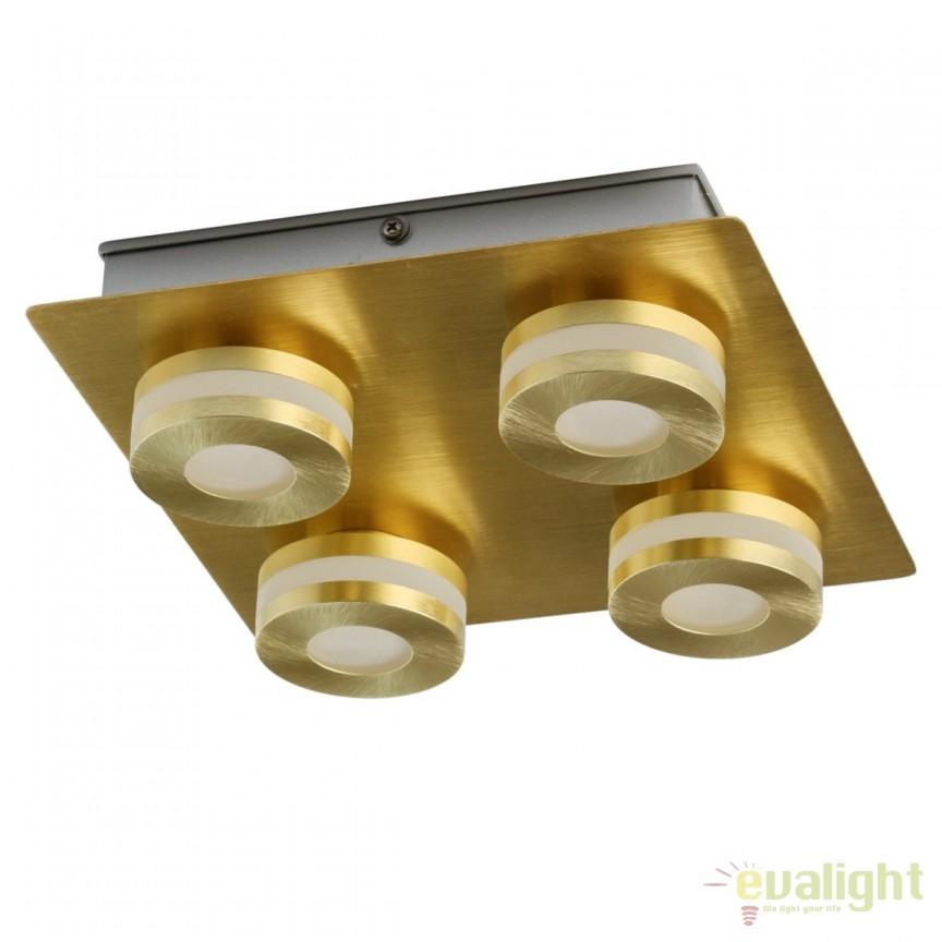 Plafoniera baie LED moderna Punktum 4L 549010804 MW, Plafoniere cu protectie pentru baie, Corpuri de iluminat, lustre, aplice, veioze, lampadare, plafoniere. Mobilier si decoratiuni, oglinzi, scaune, fotolii. Oferte speciale iluminat interior si exterior. Livram in toata tara.  a