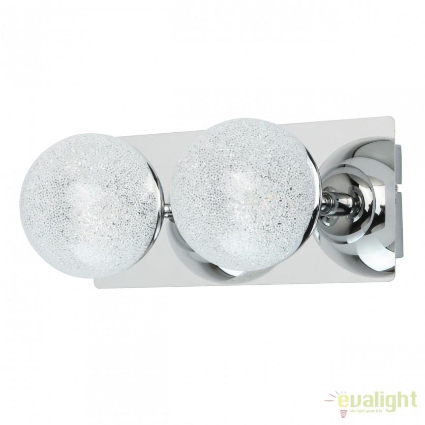 Aplica perete LED moderna Casper 2L 707020302 MW, Aplice de perete LED, Corpuri de iluminat, lustre, aplice, veioze, lampadare, plafoniere. Mobilier si decoratiuni, oglinzi, scaune, fotolii. Oferte speciale iluminat interior si exterior. Livram in toata tara.  a