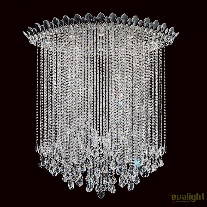 Plafoniera design LUX cristal Heritage, Trilliane Strands TR4803, Plafoniere Cristal Schonbek , Corpuri de iluminat, lustre, aplice, veioze, lampadare, plafoniere. Mobilier si decoratiuni, oglinzi, scaune, fotolii. Oferte speciale iluminat interior si exterior. Livram in toata tara.  a