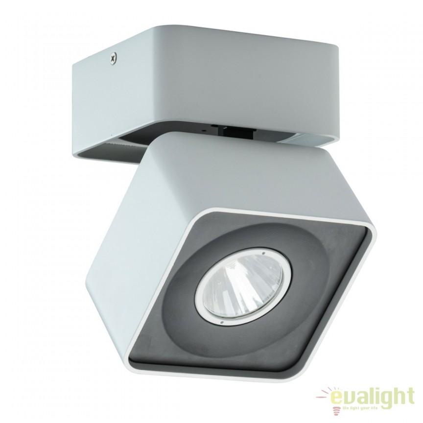 Spot LED aplicat directionabil Cruise I 637016901 MW, Spoturi LED incastrate, aplicate, Corpuri de iluminat, lustre, aplice, veioze, lampadare, plafoniere. Mobilier si decoratiuni, oglinzi, scaune, fotolii. Oferte speciale iluminat interior si exterior. Livram in toata tara.  a