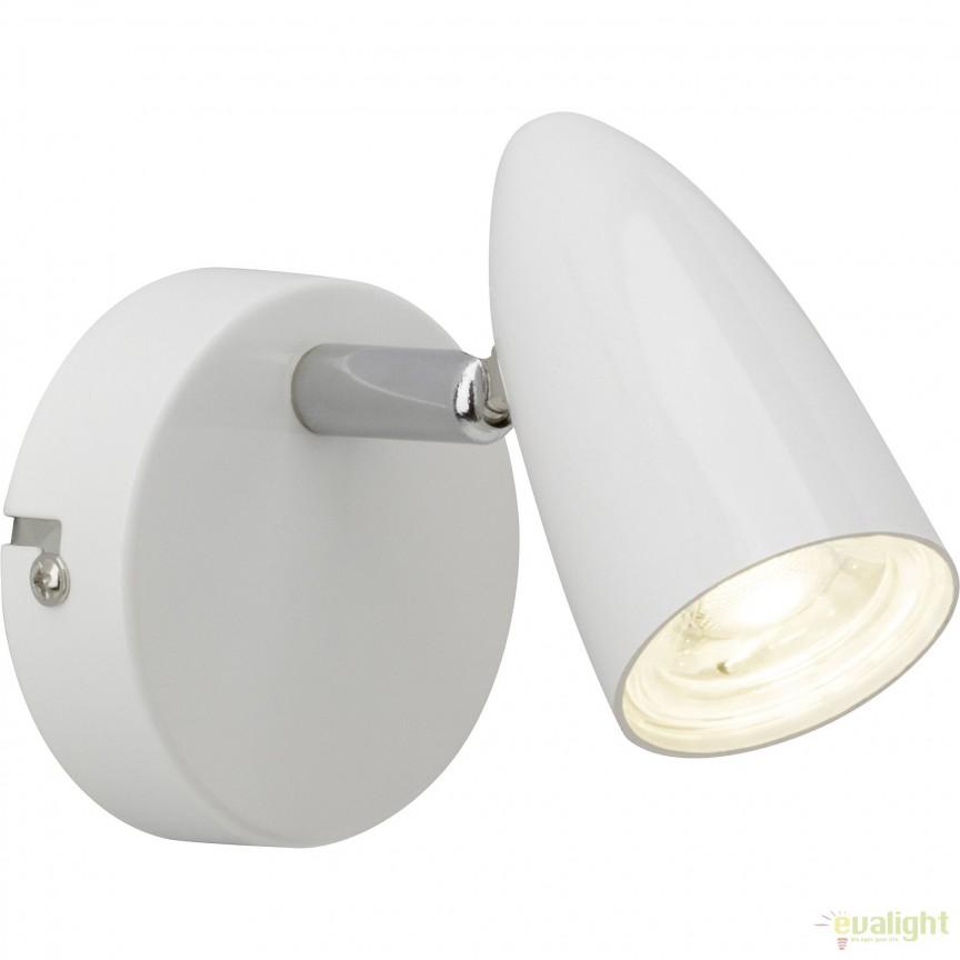 Aplica LED minimalista directionabila Nano G50710/05 BL, Spoturi - iluminat - cu 1 spot, Corpuri de iluminat, lustre, aplice, veioze, lampadare, plafoniere. Mobilier si decoratiuni, oglinzi, scaune, fotolii. Oferte speciale iluminat interior si exterior. Livram in toata tara.  a