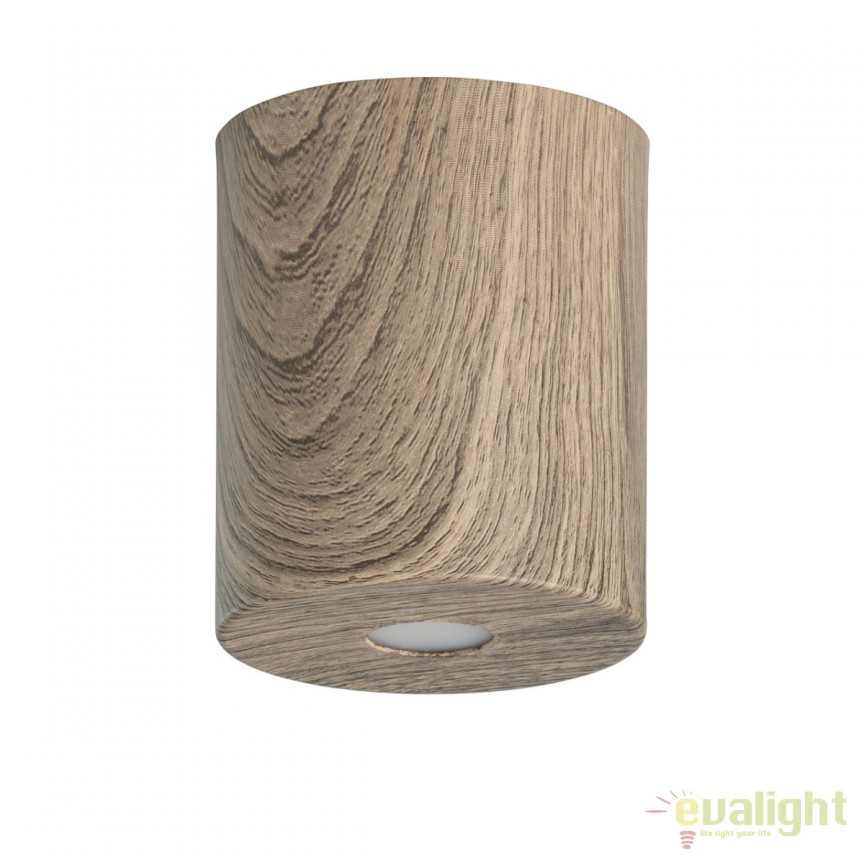 Spot LED aplicat finisaj lemn stejar Ilang H12cm 712010301 MW, Spoturi LED incastrate, aplicate, Corpuri de iluminat, lustre, aplice, veioze, lampadare, plafoniere. Mobilier si decoratiuni, oglinzi, scaune, fotolii. Oferte speciale iluminat interior si exterior. Livram in toata tara.  a