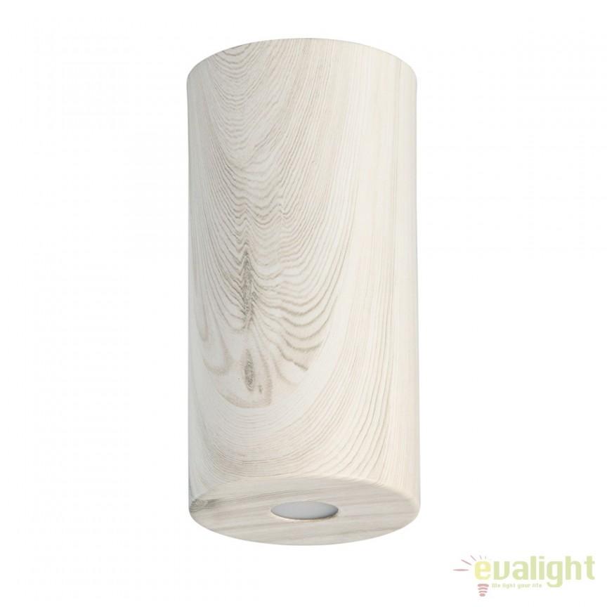 Spot LED aplicat finisaj lemn stejar deschis Ilang H20cm 712010901 MW, Spoturi LED incastrate, aplicate, Corpuri de iluminat, lustre, aplice, veioze, lampadare, plafoniere. Mobilier si decoratiuni, oglinzi, scaune, fotolii. Oferte speciale iluminat interior si exterior. Livram in toata tara.  a