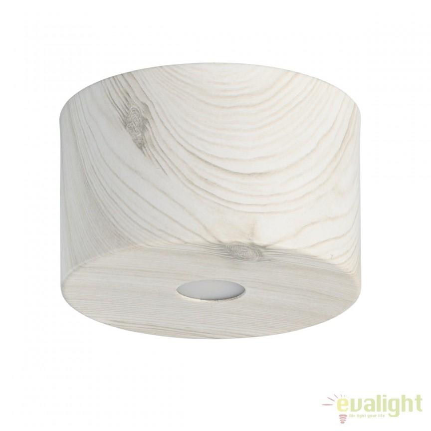 Spot LED aplicat finisaj lemn stejar deschis Ilang H8cm 712010701 MW, Spoturi LED incastrate, aplicate, Corpuri de iluminat, lustre, aplice, veioze, lampadare, plafoniere. Mobilier si decoratiuni, oglinzi, scaune, fotolii. Oferte speciale iluminat interior si exterior. Livram in toata tara.  a