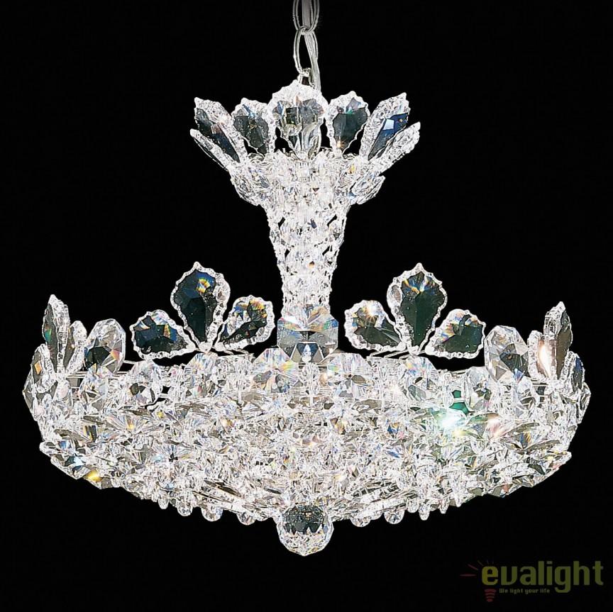 Lustra eleganta design LUX cristal Spectra, Trilliane 5853, Lustre Cristal Schonbek , Corpuri de iluminat, lustre, aplice, veioze, lampadare, plafoniere. Mobilier si decoratiuni, oglinzi, scaune, fotolii. Oferte speciale iluminat interior si exterior. Livram in toata tara.  a