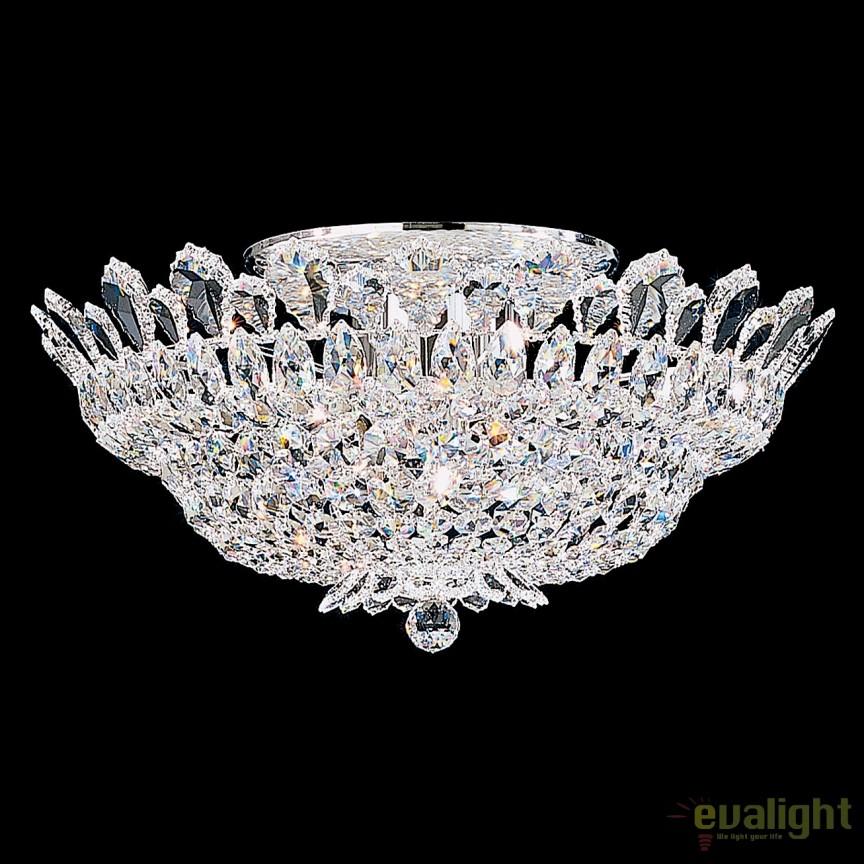 Plafoniera design LUX cristal Spectra, Trilliane 5868, Plafoniere Cristal Schonbek , Corpuri de iluminat, lustre, aplice, veioze, lampadare, plafoniere. Mobilier si decoratiuni, oglinzi, scaune, fotolii. Oferte speciale iluminat interior si exterior. Livram in toata tara.  a