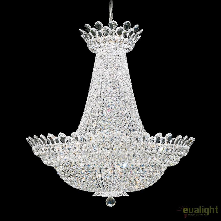 Lustra, Candelabru XL design LUX cristal Spectra, Trilliane 5874, LUSTRE CRISTAL, Corpuri de iluminat, lustre, aplice, veioze, lampadare, plafoniere. Mobilier si decoratiuni, oglinzi, scaune, fotolii. Oferte speciale iluminat interior si exterior. Livram in toata tara.  a