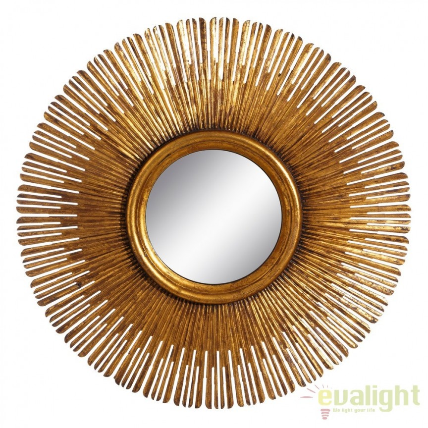 Oglinda eleganta design vintage Oro, 107cm DZ-105743, Corpuri de iluminat, lustre, aplice, veioze, lampadare, plafoniere. Mobilier si decoratiuni, oglinzi, scaune, fotolii. Oferte speciale iluminat interior si exterior. Livram in toata tara.