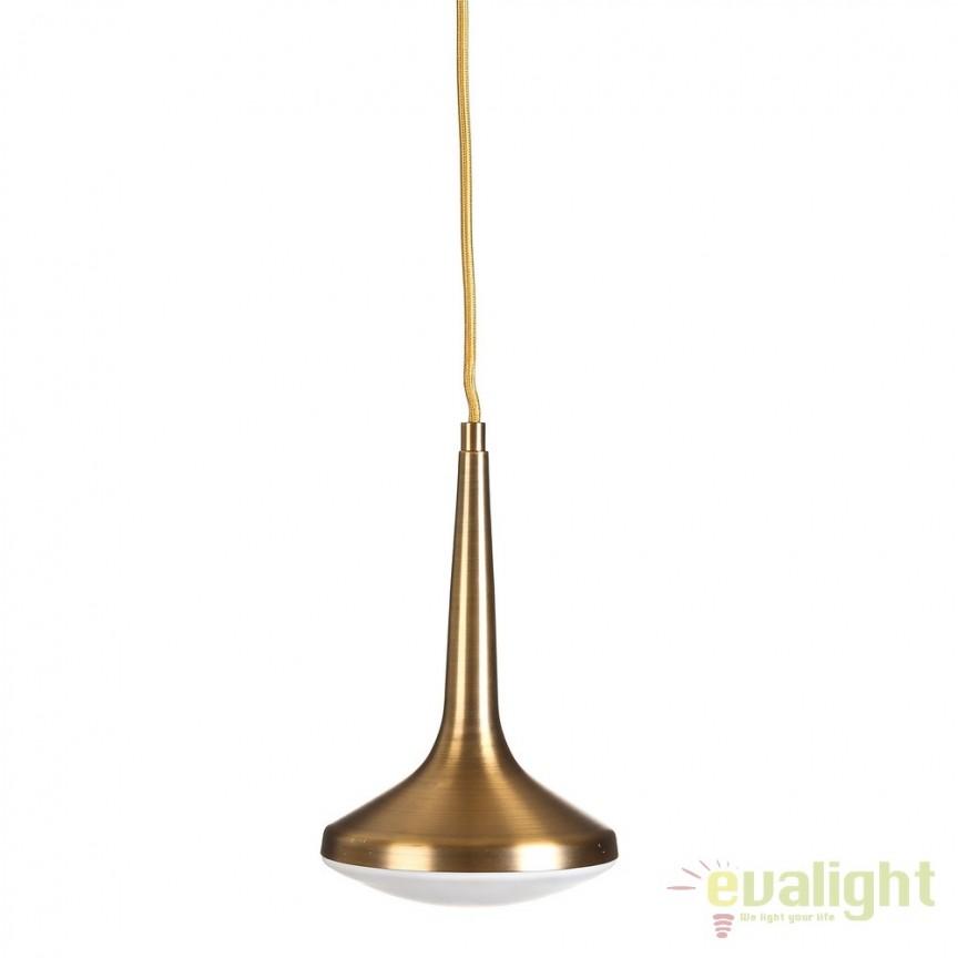 Pendul LED design retro Infinity Ø16cm DZ-104042 , NOU ! Lustre VINTAGE, RETRO, INDUSTRIA Style, Corpuri de iluminat, lustre, aplice, veioze, lampadare, plafoniere. Mobilier si decoratiuni, oglinzi, scaune, fotolii. Oferte speciale iluminat interior si exterior. Livram in toata tara.  a