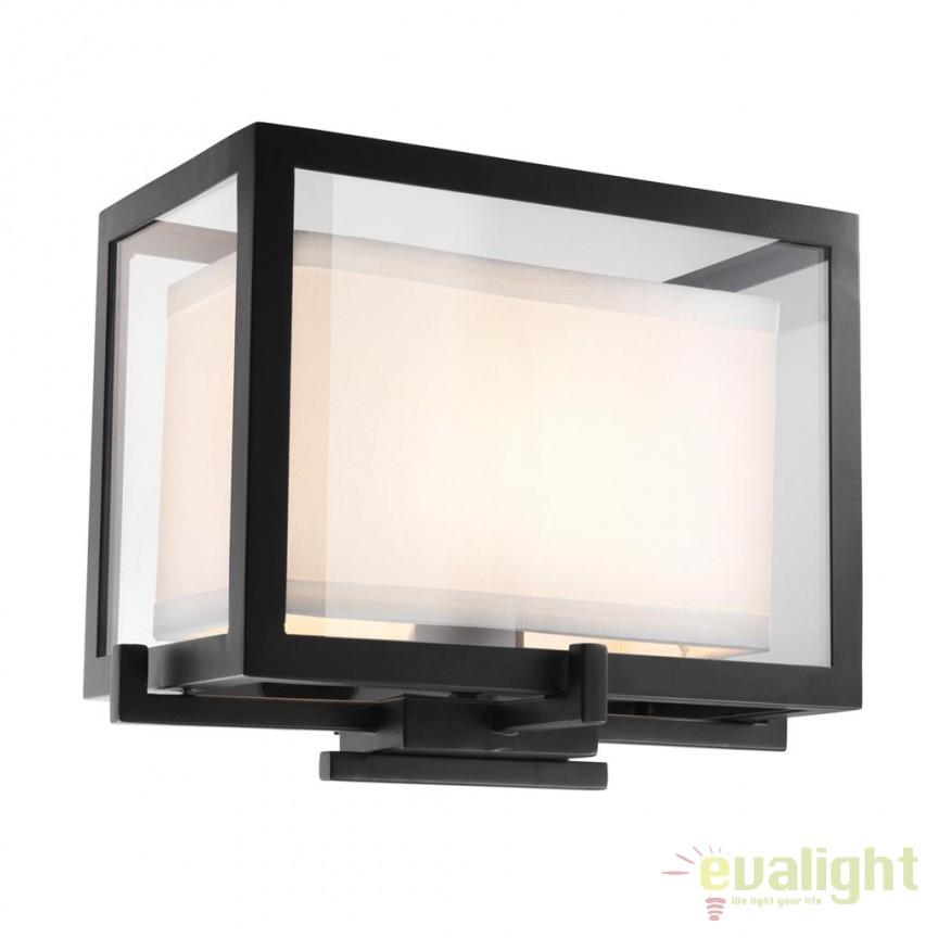 Aplica de perete design LUX Pulse 112167 HZ, Aplice de perete simple, Corpuri de iluminat, lustre, aplice, veioze, lampadare, plafoniere. Mobilier si decoratiuni, oglinzi, scaune, fotolii. Oferte speciale iluminat interior si exterior. Livram in toata tara.  a