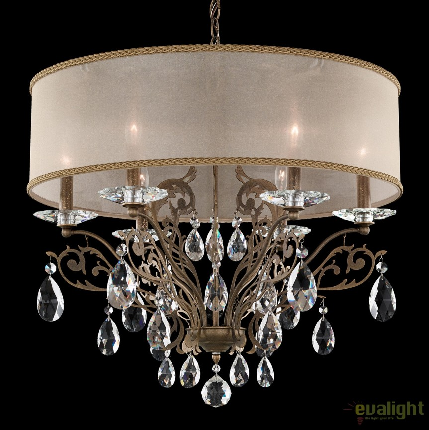 Candelabru design LUX cristal Heritage, Filigrae FE7066, Lustre Cristal Schonbek , Corpuri de iluminat, lustre, aplice, veioze, lampadare, plafoniere. Mobilier si decoratiuni, oglinzi, scaune, fotolii. Oferte speciale iluminat interior si exterior. Livram in toata tara.  a