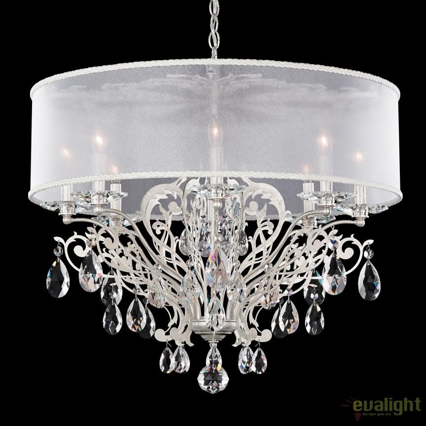 Candelabru design LUX cristal Heritage, Filigrae FE7088, Lustre Cristal Schonbek , Corpuri de iluminat, lustre, aplice, veioze, lampadare, plafoniere. Mobilier si decoratiuni, oglinzi, scaune, fotolii. Oferte speciale iluminat interior si exterior. Livram in toata tara.  a