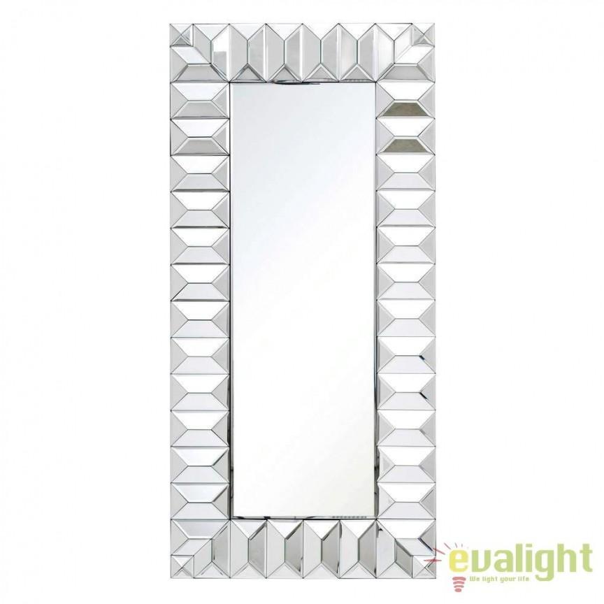 Oglinda eleganta Glam, 58x122cm SX-106485, Oglinzi decorative, Corpuri de iluminat, lustre, aplice, veioze, lampadare, plafoniere. Mobilier si decoratiuni, oglinzi, scaune, fotolii. Oferte speciale iluminat interior si exterior. Livram in toata tara.  a