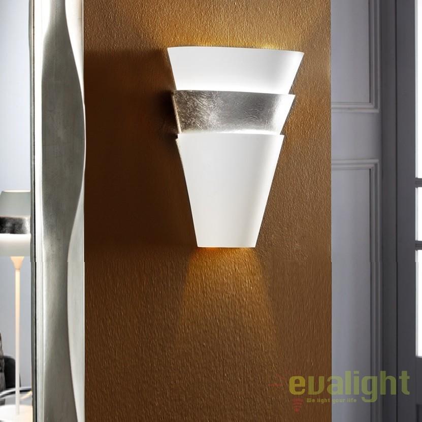 Aplica de perete LED eleganta design modern ISIS SV - 648388, Aplice de perete LED, Corpuri de iluminat, lustre, aplice, veioze, lampadare, plafoniere. Mobilier si decoratiuni, oglinzi, scaune, fotolii. Oferte speciale iluminat interior si exterior. Livram in toata tara.  a